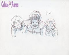 Dragon Ball Z Sketch 013 B4 B5