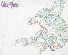 Dragon Ball Z Sketch 023 B1 + 13 sheets