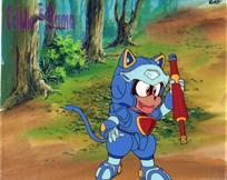 Samurai Pizza Cats Cel 005 A7END B6END + BG