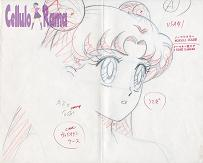 Sailor Moon Sketch 004 A1
