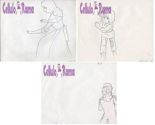 The Rose Of Versailles Sketch 006 Lot of 3